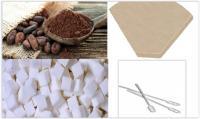Cacao, Suiker en Toebehoren