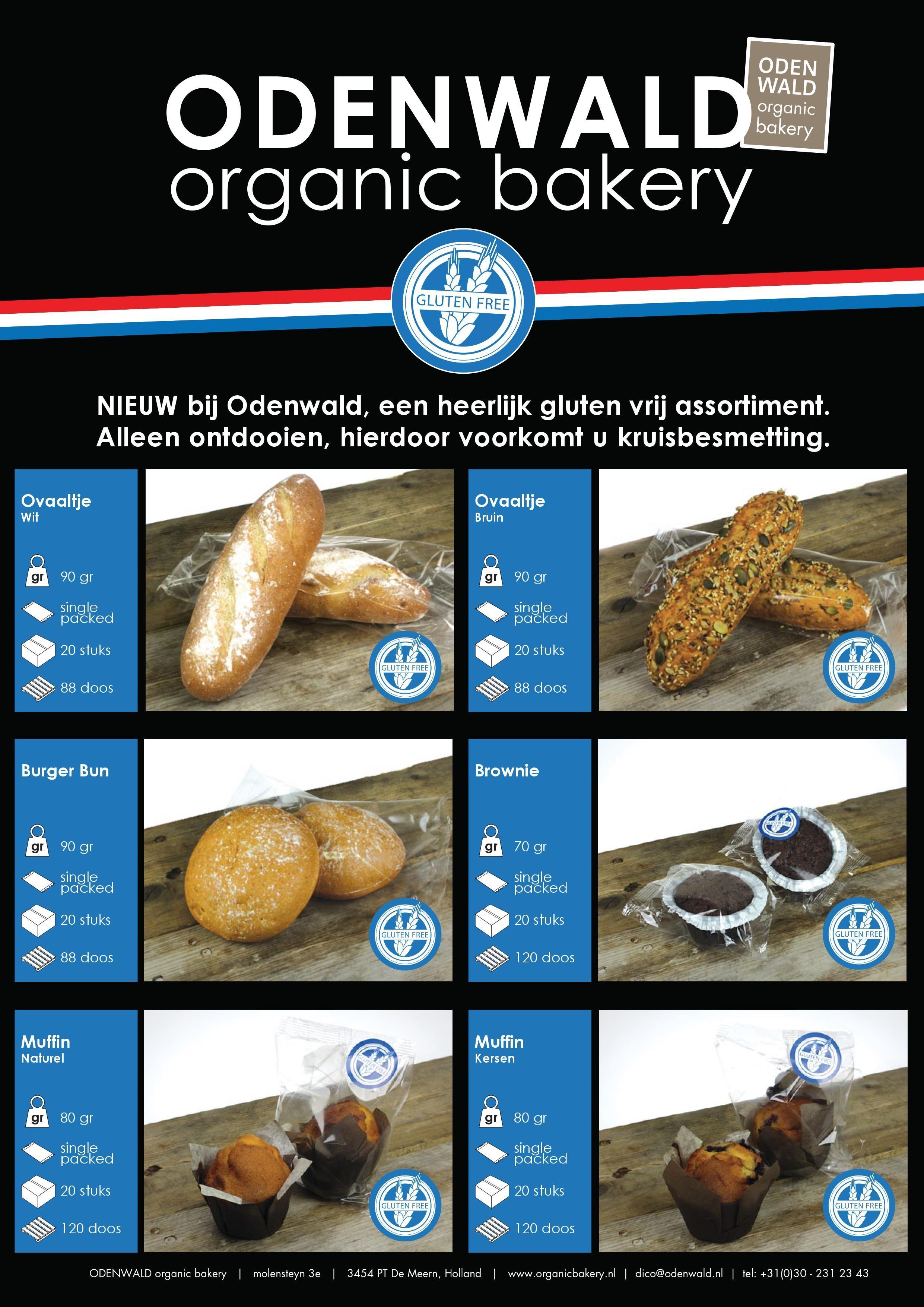 Glutenvrij Organic Bakery