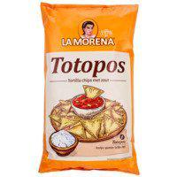 TORTILLA CHIPS SALTED TOTOPOS
