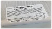 HAMBURGER ONGEPANEERD GEGAARD