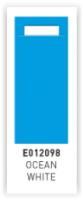 BESTEK ZAKJES  OCEAN WHITE ( Licht blauw )