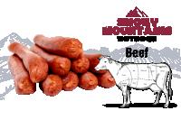 BEEF HOT DOG (LA 8403)  22 CM 100%  RUND