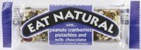 EAT NATURAL: PEAN./CRANB./PIST.